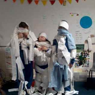 Hallowe'en mummies