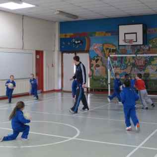 Gaa coaching with Niall
